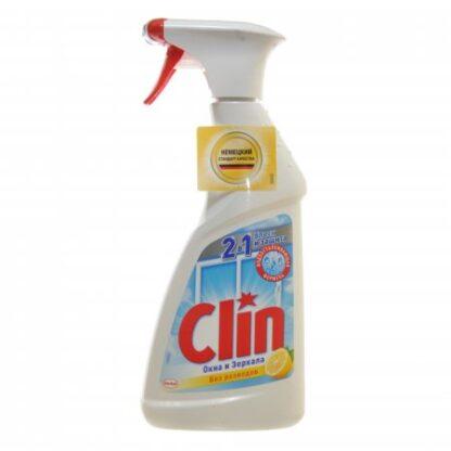 Clin Лимон Окна и зеркала 2 в 1 Средство для стекол 500 мл