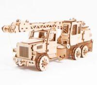 Polly чудо-игрушки Кран 46*14*15 см 185 деталей деревянный конструктор