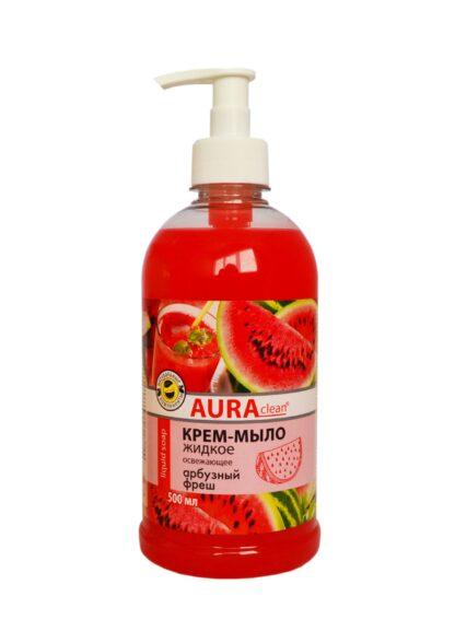AURAclean арбузный фреш жидкое Крем-Мыло 500 мл