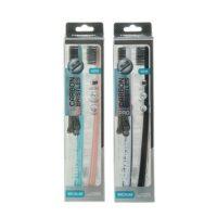 Rendal Carbon bristles средней жесткости зубные щетки 1+1 шт