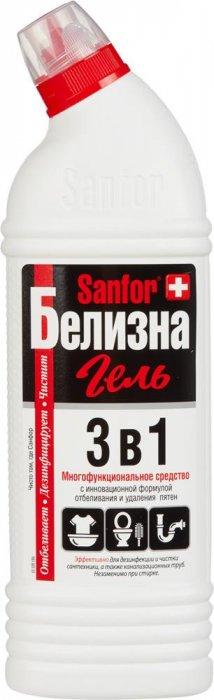 Sanfor Белизна гель 3 в 1 многофункциональное чистящее средство 1000 г